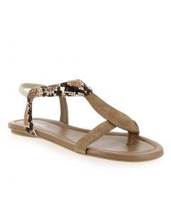 BERNIE Beige 5830606 pour Femme vendues par JEF Chaussures