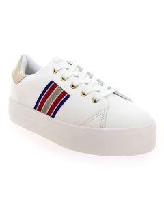 PLATO DERBY Blanc 5812501 pour Femme vendues par JEF Chaussures