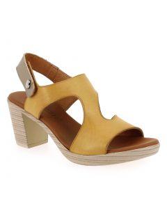 108456 Jaune 5786602 pour Femme vendues par JEF Chaussures