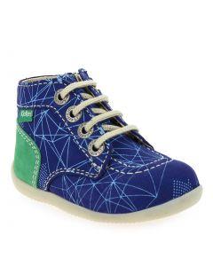 BONZIP-2 GALACTIC Bleu 6420701 pour Enfant garçon, Bébé garçon vendues par JEF Chaussures