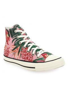 CHUCK TAYLOR ALL STAR HI 171077C Rose 6410401 pour Femme vendues par JEF Chaussures