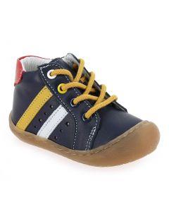 SILVIN Bleu 6431901 pour Enfant garçon, Bébé garçon vendues par JEF Chaussures