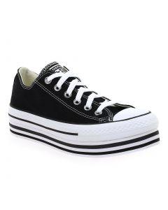 CHUCK TAYLOR ALL STAR PLATFORM LAYER OX Noir 6201101 pour Femme vendues par JEF Chaussures